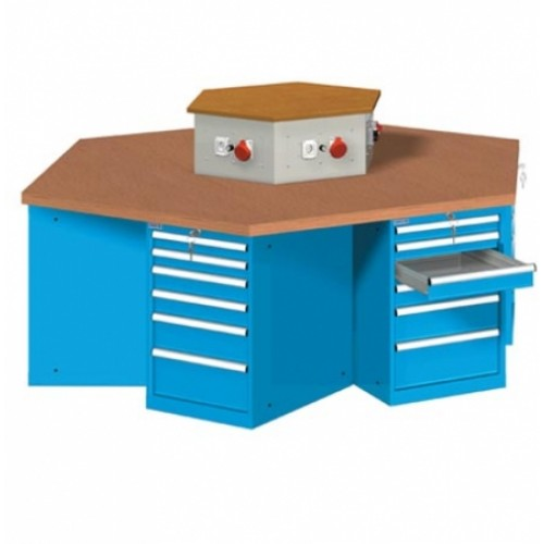 Hexagonal Group Workbench [Series 40]
